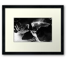 Land of Ice & Shadow Framed Print