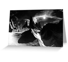 Land of Ice & Shadow Greeting Card