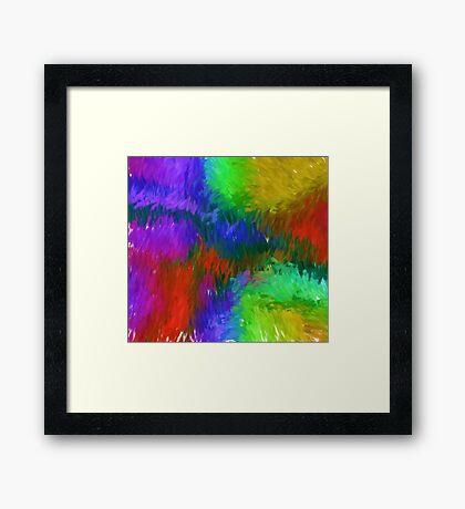 Passion Rising Framed Print