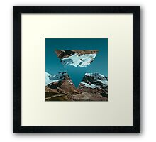 ∇ VII Framed Print