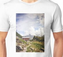 The Hut in the Mountains Unisex T-Shirt