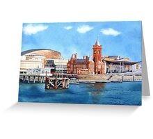 Cardiff Bay, South Wales Greeting Card