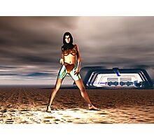 Cyborg.......... Kyle Z101........... Photographic Print