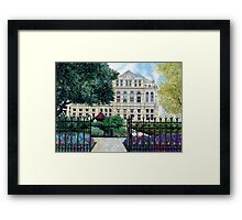 Old Library, Cardiff Framed Print