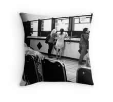 Immigration, Jakarta Throw Pillow