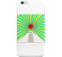 Mayan Sun Pyramid  iPhone Case/Skin