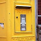 Yellow Postes by nadinecreates