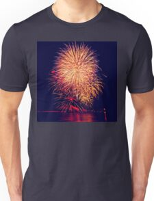 Fireworks lights Unisex T-Shirt