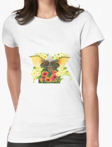 Stripe's secret garden Womens Fitted T-Shirt