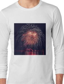 Fireworks lights Long Sleeve T-Shirt