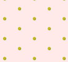 Glitter Polka Dots by UzStore