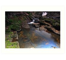 """Lobster Creek Lower"" Art Print"