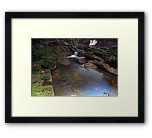 """Lobster Creek Lower"" Framed Print"