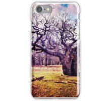 Ancient Oak Tree, Richmond Park, London iPhone Case/Skin