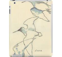 Sketching birds iPad Case/Skin