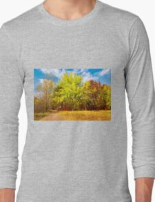 Autumn colors of nature Long Sleeve T-Shirt