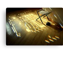 light in the house ... Canvas Print