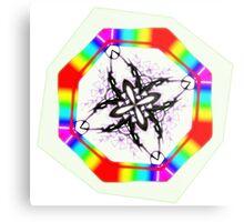 Rainbow Design Metal Print