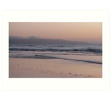 Sunset at Aldinga Beach in Spring II Art Print
