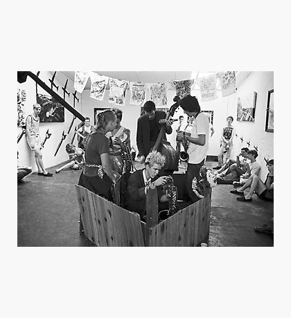 Crass Art exhibition and performance at Art Unit Photographic Print