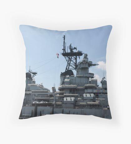 BB62 Throw Pillow