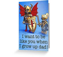 Role model Greeting Card