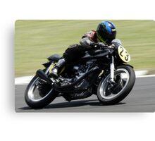 Motor Cycle Racing Canvas Print