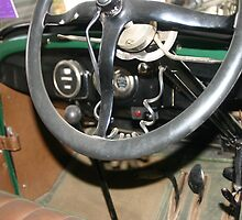 """1927 Ford """"T"""" Interior by Chris Chalk"""
