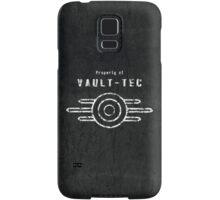 Vault-Tec (White) Samsung Galaxy Case/Skin