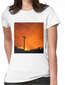 Goodbye Snapper Point Sunrise 1 Womens Fitted T-Shirt