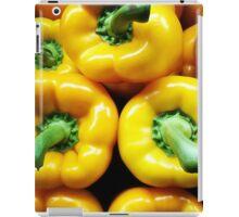 Yellow Peppers iPad Case/Skin