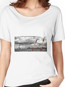 Route 66 - Twin Arrows - Selective Color Women's Relaxed Fit T-Shirt
