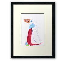 Karen's Penguin 1 Framed Print