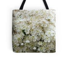 Orange Firethorn (Pyracantha) Tote Bag