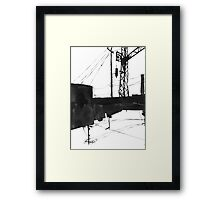Railway IV Framed Print