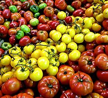 Heritage Tomatoes I by Ludwig Wagner