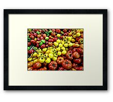 Heritage Tomatoes I Framed Print
