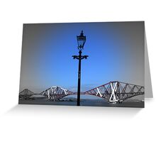 Forth Bridge South Queensferry Greeting Card