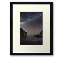 Quiet Lagoon Framed Print