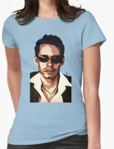 Marc Anthony Womens Fitted T-Shirt