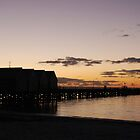 Busselton Jetty at sundown by Adrian Kent