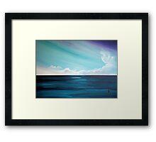 the Weatherman (Serenity) Framed Print