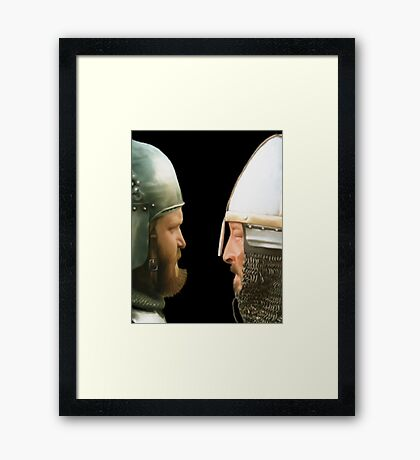 Does yours go rusty when it gets wet? Framed Print