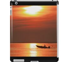 Fiery End to a Day of Fishing iPad Case/Skin