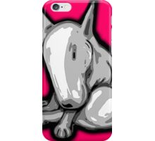 Bashful English Bull Terrier iPhone Case/Skin