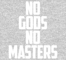 NO GODS, NO MASTERS One Piece - Long Sleeve