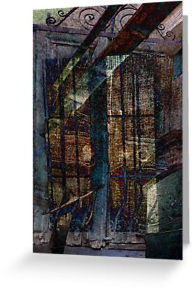 Cubist Shutters and Windows by Sarah Vernon