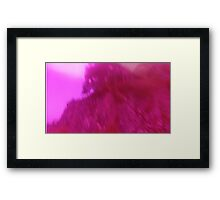 Hollow Hill Trees n°7 Framed Print