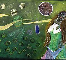 Space Nymph  by Susan van Zyl
