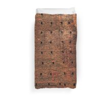 Castello Sforzesco Brick Design  Duvet Cover